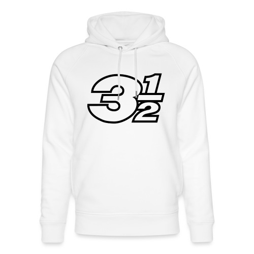 Three and a Half Logo - Unisex Organic Hoodie by Stanley & Stella