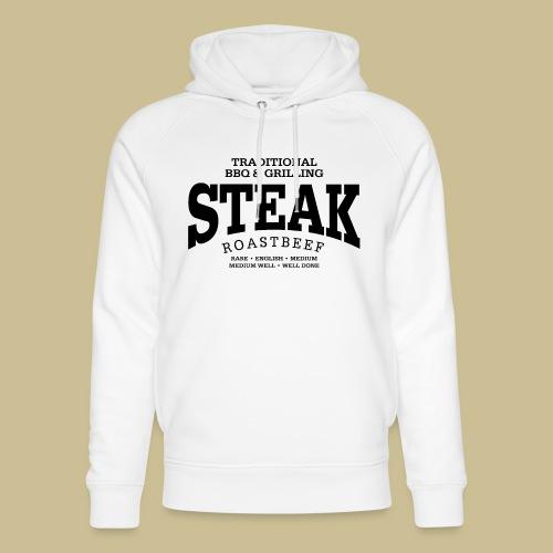 Steak (black) - Unisex Bio-Hoodie von Stanley & Stella