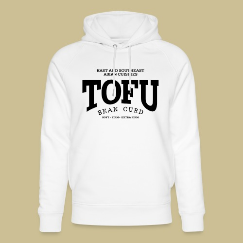 Tofu (black) - Unisex Bio-Hoodie von Stanley & Stella