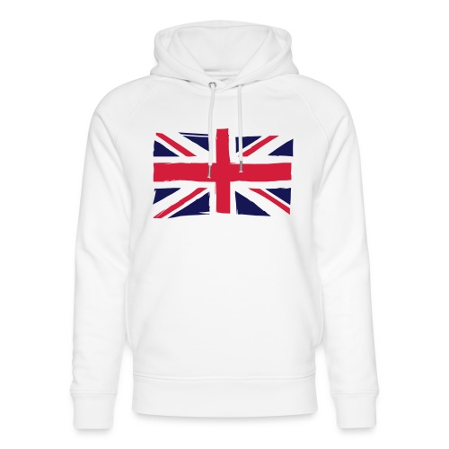 vlag engeland - Uniseks bio-hoodie van Stanley & Stella