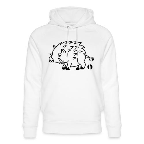 Wildschwein - Unisex Bio-Hoodie von Stanley & Stella