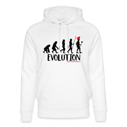Die Evolution - Unisex Bio-Hoodie von Stanley & Stella
