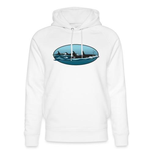 Orca - Uniseks bio-hoodie van Stanley & Stella