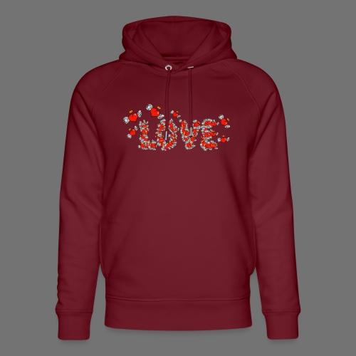 Flying Hearts LOVE - Stanley & Stellan unisex-luomuhuppari