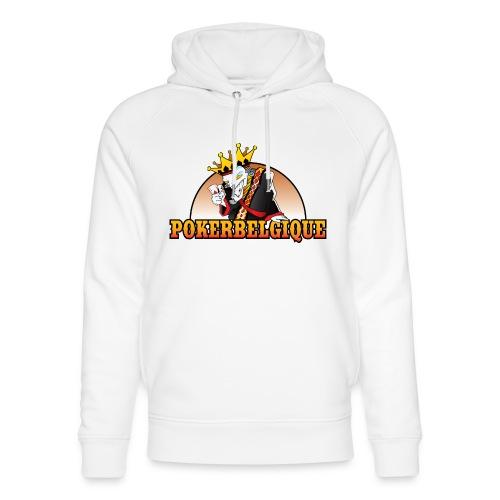 Logo Poker Belgique - Sweat à capuche bio Stanley & Stella unisexe