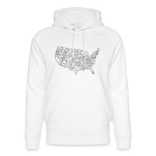 UNITED CATS OF AMERICA - Ekologiczna bluza z kapturem typu unisex Stanley & Stella