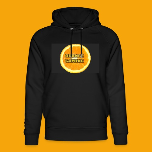 Orange_Logo_Black - Unisex Organic Hoodie by Stanley & Stella
