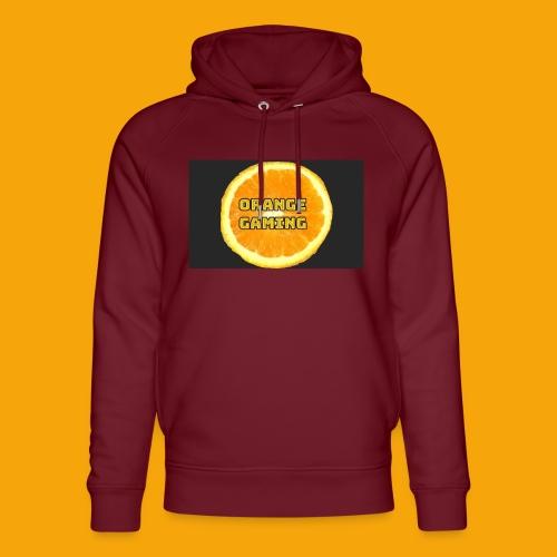 Orange_Logo_Black - Unisex Organic Hoodie by Stanley & Stella