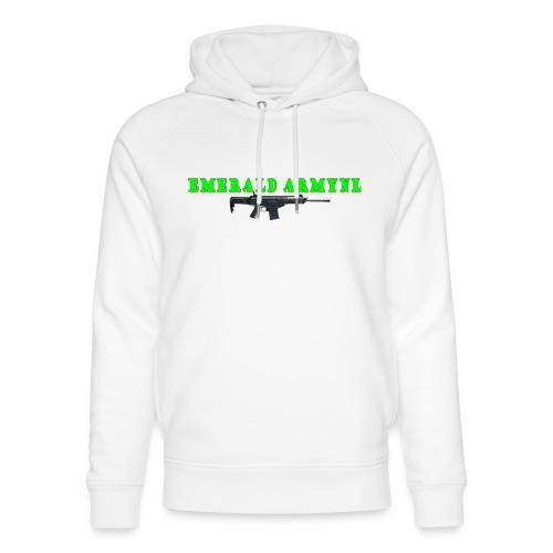 EMERALDARMYNL LETTERS! - Uniseks bio-hoodie van Stanley & Stella