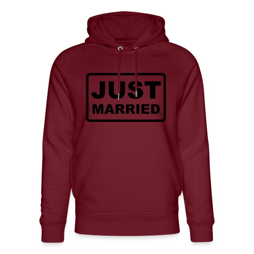 Just Married - Unisex Bio-Hoodie von Stanley & Stella