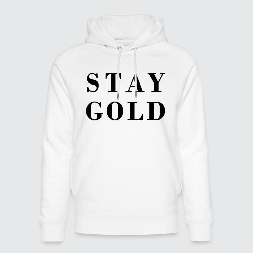 stay gold - Unisex Bio-Hoodie von Stanley & Stella