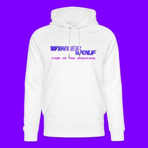 WINTERWOLF LOGO Part of The Wolfpack T-shirt - Uniseks bio-hoodie van Stanley & Stella