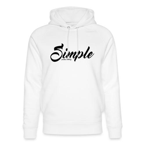 Simple: Clothing Design - Unisex Organic Hoodie by Stanley & Stella