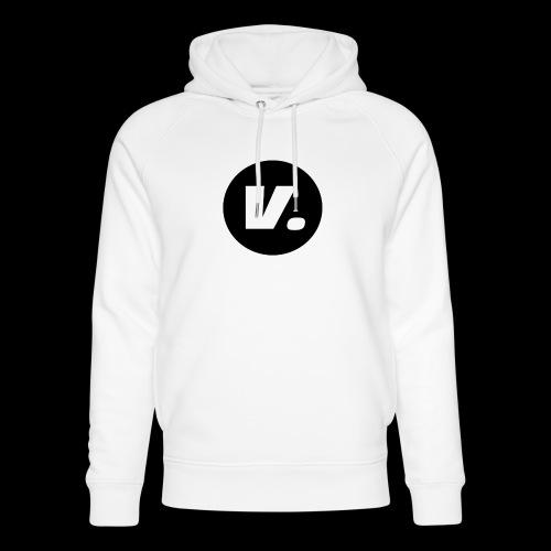 Ventura White V Logo - Uniseks bio-hoodie van Stanley & Stella