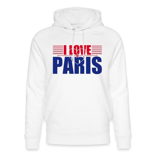 love paris - Sweat à capuche bio Stanley & Stella unisexe