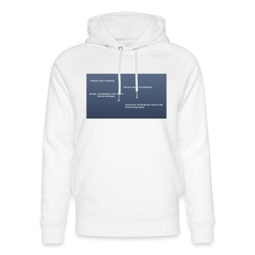 Running joke t-shirt - Unisex Organic Hoodie by Stanley & Stella