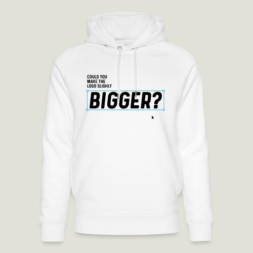 Could you make the Logo slightly Bigger? - Unisex Bio-Hoodie von Stanley & Stella