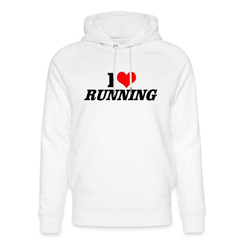 I love running - Unisex Bio-Hoodie von Stanley & Stella