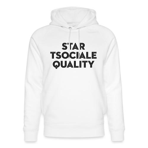 Start Social Equality - Unisex Organic Hoodie by Stanley & Stella