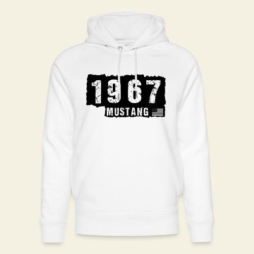 1967 - Stanley & Stella unisex hoodie af økologisk bomuld