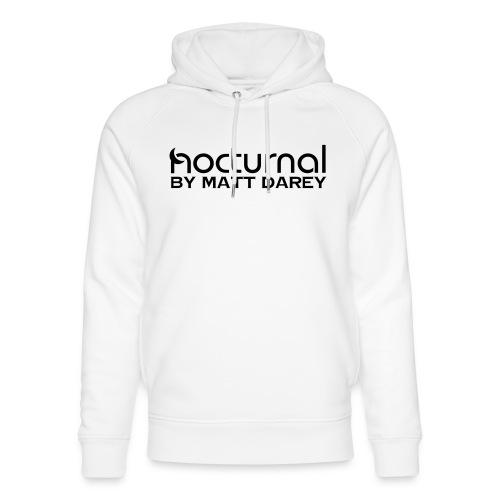 Nocturnal by Matt Darey Black - Unisex Organic Hoodie by Stanley & Stella