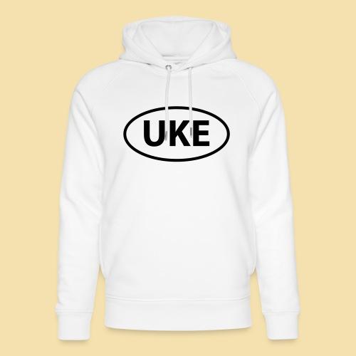 Schwarz UKE Lankennzeichen T-Shirts - Unisex Bio-Hoodie von Stanley & Stella