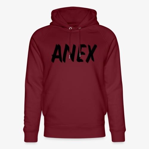 V-neck T-Shirt Anex black logo - Unisex Organic Hoodie by Stanley & Stella