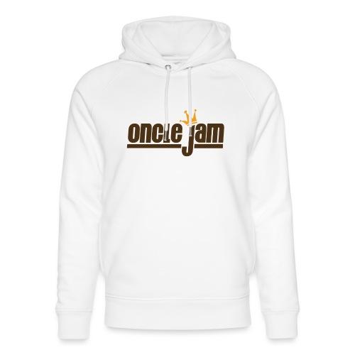 Oncle Jam horizontal brun - Sweat à capuche bio Stanley & Stella unisexe