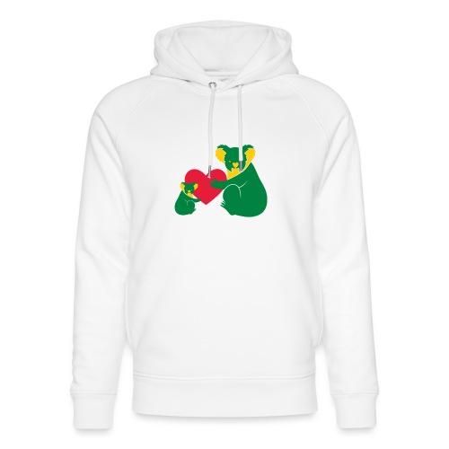 Koala Heart Baby - Unisex Organic Hoodie by Stanley & Stella