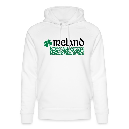 Ireland - Uniseks bio-hoodie van Stanley & Stella
