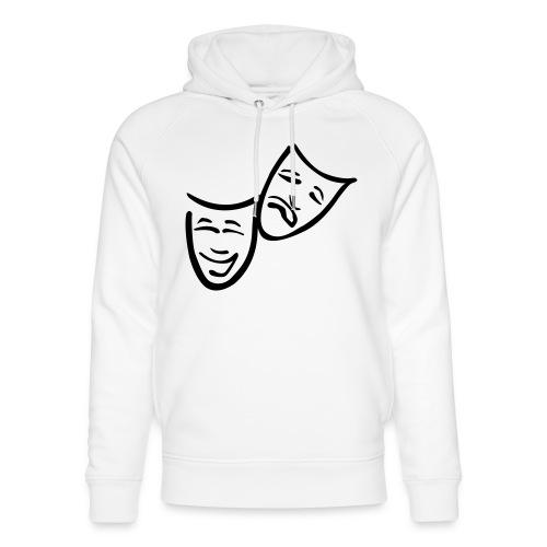 Theatermasken - Unisex Bio-Hoodie von Stanley & Stella