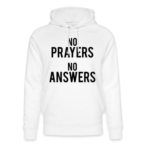 No prayers no answers 2ème modèle - Sweat à capuche bio Stanley & Stella unisexe