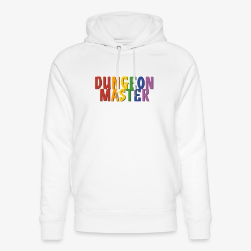 Dungeon Master Pride (Rainbow) - Unisex Organic Hoodie by Stanley & Stella