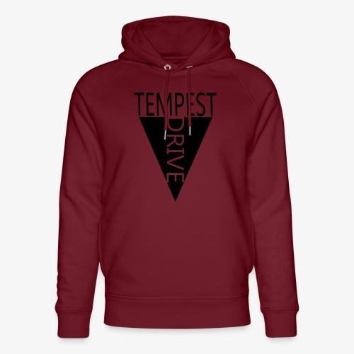 Komprimeret logo - Stanley & Stella unisex hoodie af økologisk bomuld
