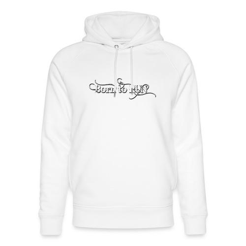 Born-to-RUN---Logo---White.png - Unisex Bio-Hoodie von Stanley & Stella