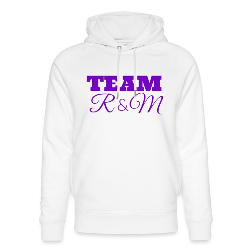 Team R N M Purple, M - Unisex Organic Hoodie by Stanley & Stella