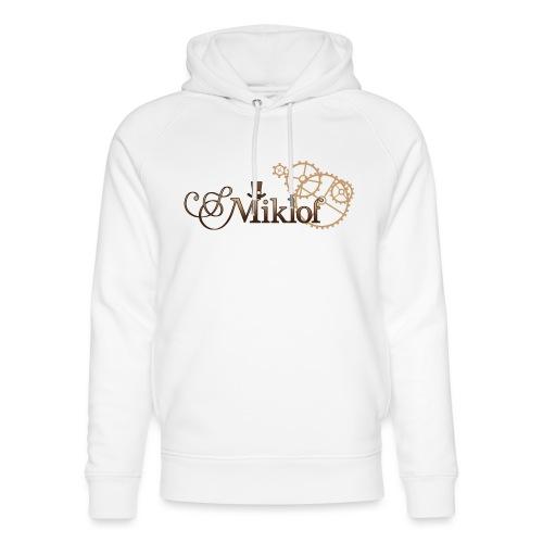 miklof logo gold wood gradient 3000px - Unisex Organic Hoodie by Stanley & Stella
