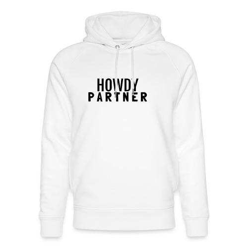 Howdy Partner - Stanley & Stella unisex hoodie af økologisk bomuld