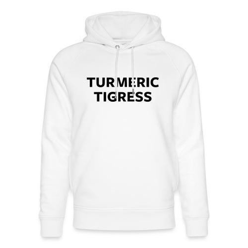 Turmeric Tigress - Unisex Organic Hoodie by Stanley & Stella