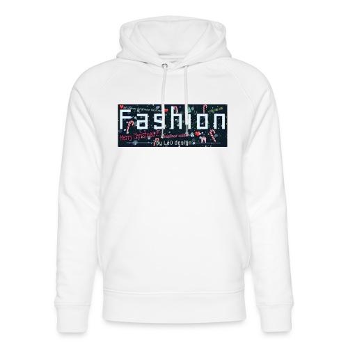 fashion kerstmis - Uniseks bio-hoodie van Stanley & Stella