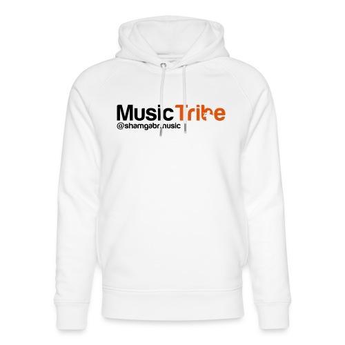 music tribe logo - Unisex Organic Hoodie by Stanley & Stella