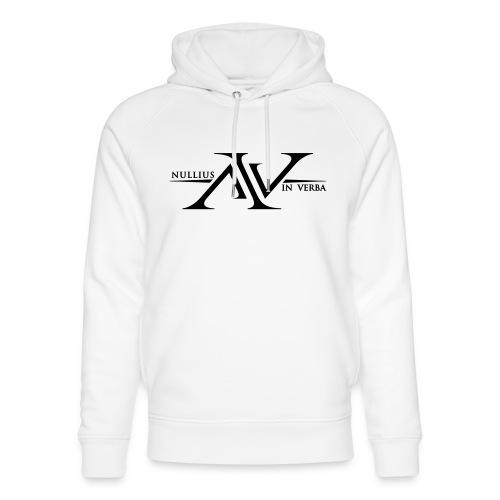 Nullius In Verba Logo - Unisex Organic Hoodie by Stanley & Stella