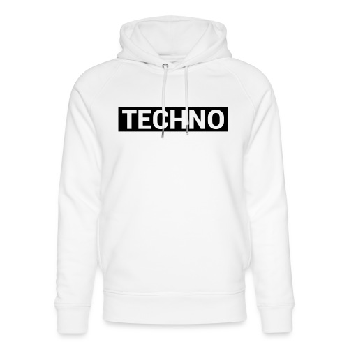 TECHNO - Unisex Bio-Hoodie von Stanley & Stella