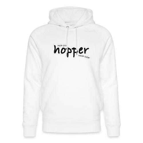 MuchoHop Hop On/Off (black) - Sudadera con capucha ecológica unisex de Stanley & Stella