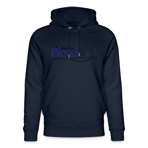 Official Warwick PhysSoc T Shirt - Unisex Organic Hoodie by Stanley & Stella