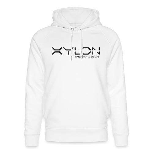 Xylon Handcrafted Guitars (plain logo in black) - Unisex Organic Hoodie by Stanley & Stella