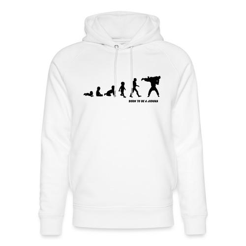 born to be a judoka - Uniseks bio-hoodie van Stanley & Stella