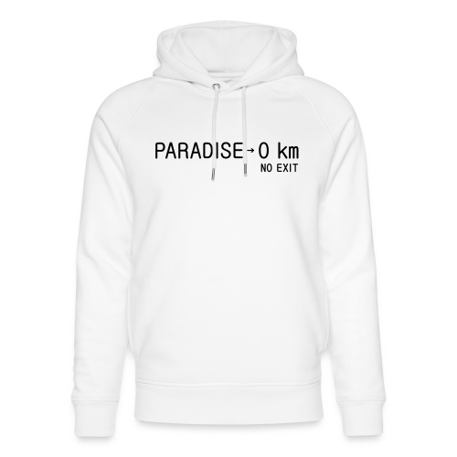 paradise0km - Unisex Bio-Hoodie von Stanley & Stella