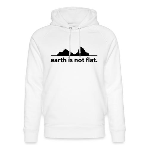 earth is not flat. - Unisex Bio-Hoodie von Stanley & Stella