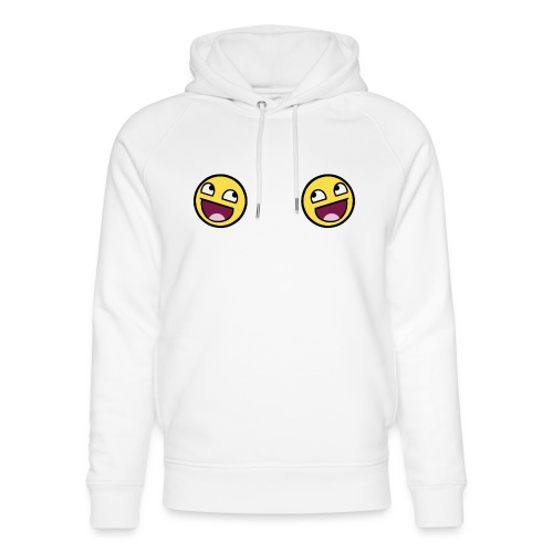 Design lolface knickers 300 fixed gif - Unisex Organic Hoodie by Stanley & Stella